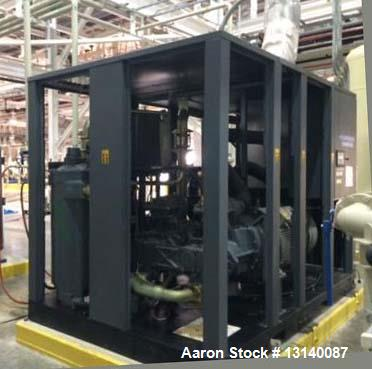 Unused- Atlas Copco Model GA200-W Oil Injected 125 PSI, Rotary Screw Compressor. Reference conditions: absolute inlet press ...