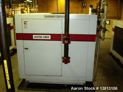 Used- Gardner-Denver 150 hp Air Compressor, Model EDHQMA AACAACC.150 HP air compressor with 100 psi operating pressure. Wate...