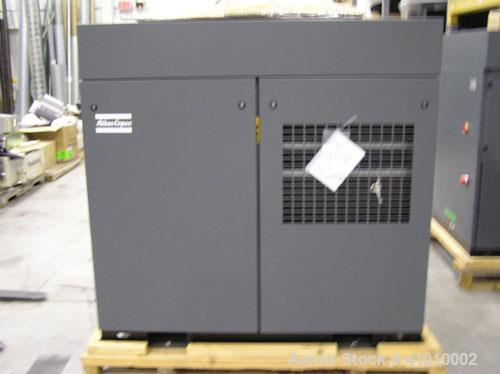 Unused-Atlas Copco Model ZT-18 Oil Free Air Compressor. Air cooled, 25 hp. Manufactured in 2002 but never used.