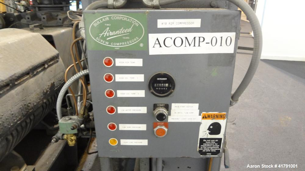 Used- Sullair Rotary Screw Air Compressor, Model 32-200L