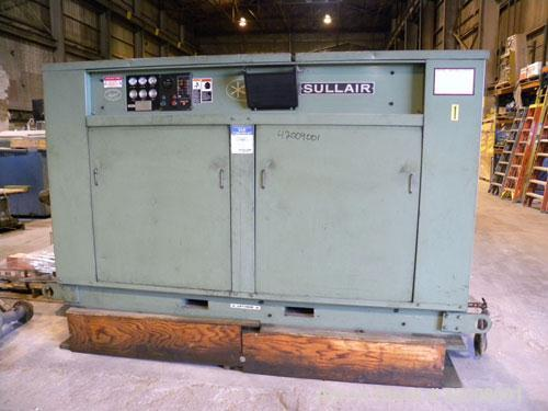Used- Sullair Rotary Screw Air Compressor, model 25-200H ACAC. Single stage, air cooled. Approximately 1218 cfm at 115/125 p...
