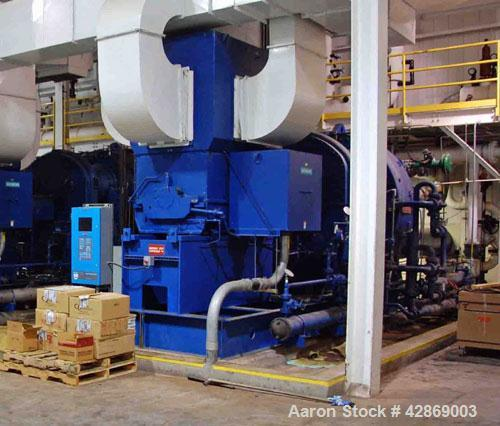 Used-Centac Compressor, Model 4C110M4.  2500 hp, 10,206 cfm intake, 5000 cfm @ 141 psi.