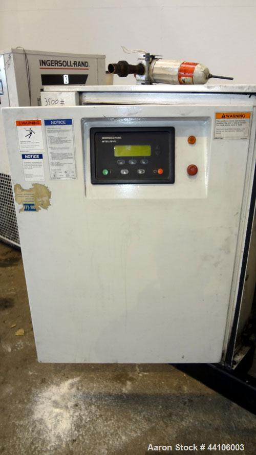 Used- Ingersoll- Rand Air Cooled Rotary Screw Air Compressor, Model SSR-EP100