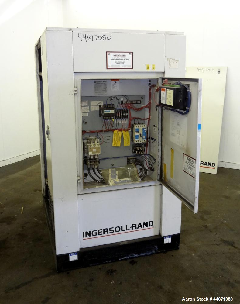 Used- Ingersoll-Rand Air Cooled Rotary Screw Air Compressor, Model SSR-EP50SE
