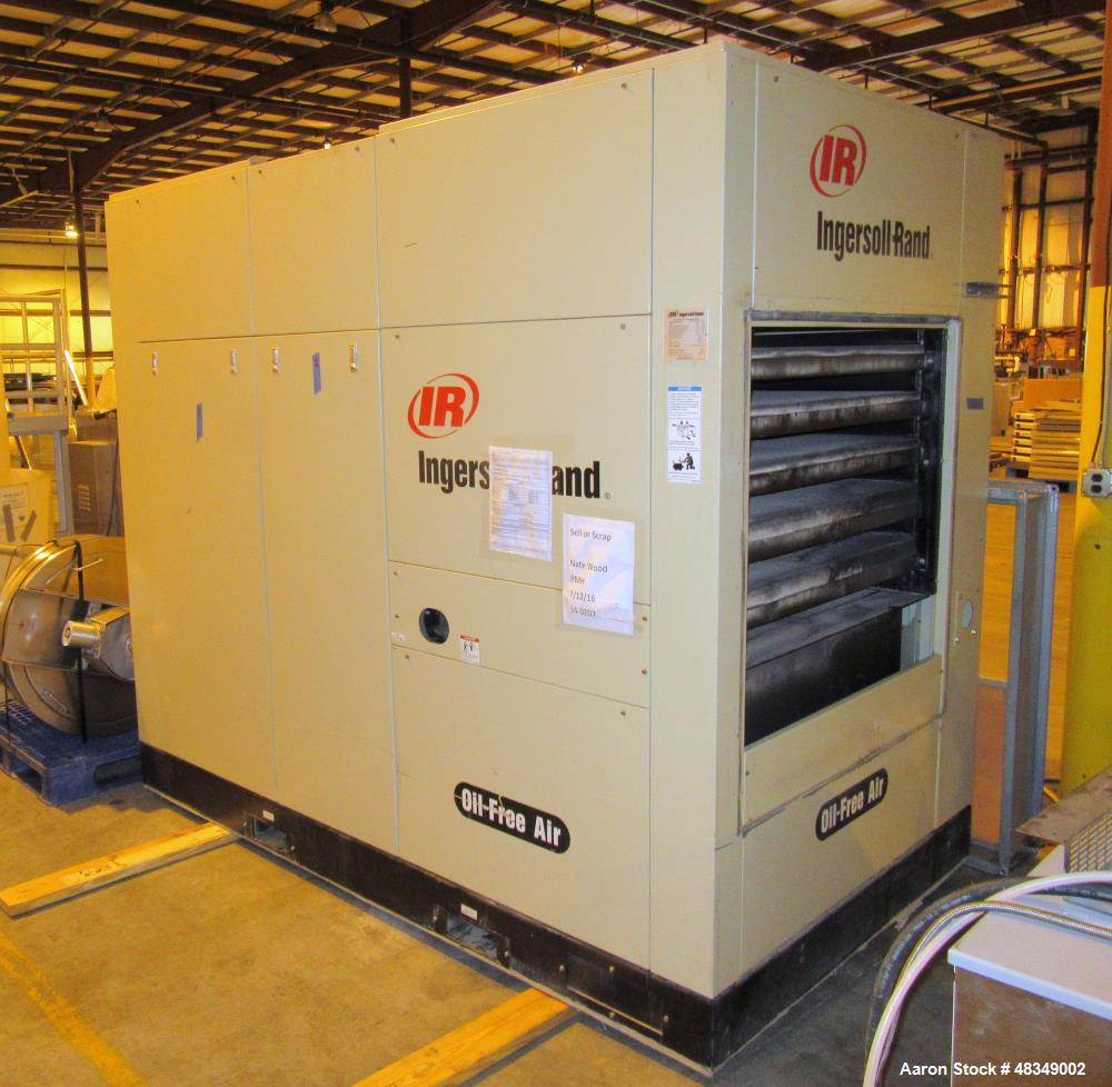 Used- Ingersoll-Rand Oil-Free Air Compressor, Model SIERRA-H200A.