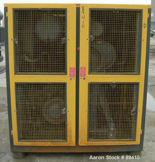 USED: Kaeser stationary rotary screw compressor, model DS140, aircooled. Capacity approximately 520 cfm at 110 psi. Driven b...