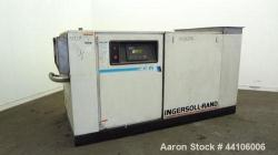 Used- Ingersoll Rand Air Cooled Rotary Screw Air Compressor, Model SSR-XF75