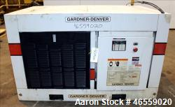 Used- Gardner Denver Electra-Screw Rotary Screw Air Compressor, Model EDEQJF.