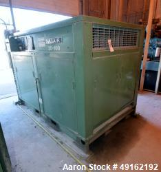 Used-Sullair Rotary Screw Air Compressor, Model 20-100L ACAC, Air Cooled. Approximately 500 cfm at 100/110 psig. Driven by a...