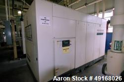 Used- Ingersoll-Rand 2 Stage Contact Cooled Rotary Screw Air Compressor, Model SSR-XKE350-2S. Capacity 1899 CFM, rated opera...