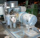 USED:Atlas Copco stationary rotary screw compressor, model GAU-807. Rated max 100 psi, air cooled, capacity approximately 41...