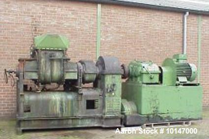 "Used- Stainless Steel Werner & Pfleiderer Z-blade mixer ""Masticator"", type UK 14 - VI H, No. 105152, new 1961"
