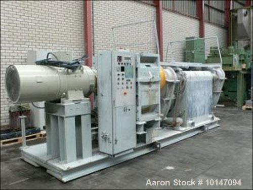 Used- Buss SR-3000 Z-blade Mixer, stainless steel on product contact parts, totalcapacity 816.5 gallons (3090 liter), working capacity 563 gallons (2130 liters)