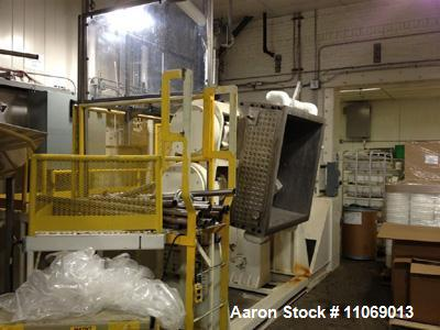 Used- Aaron Process Equipment Company Double Arm Mixer, Model MCG200-75