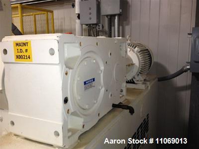 Used- Aaron Process Equipment Company Double Arm Mixer, Model MCG200-75
