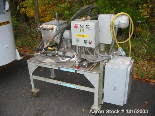 Used-USED: Readco sigma blade mixer, 6 quart lab mixer. Heavy duty, 6 quart working capacity, 9 quart total capacity, stainl...