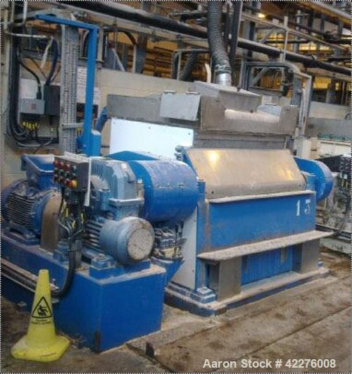 Used-Baker Perkins Double Arm Mixer