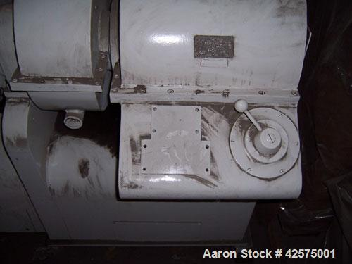 "Used-AMK Double Arm Mixer, 52.8 gallon working capacity (200 liter), model IIU, carbon steel. Non-jacketed bowl 27-1/2"" left..."