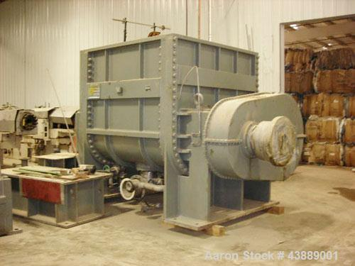 Used-J H Day 750 Gallon Working Capacity, 1560 Total Capacity, Carbon steel non-jacketed bowl with 304 stainless steel blade...