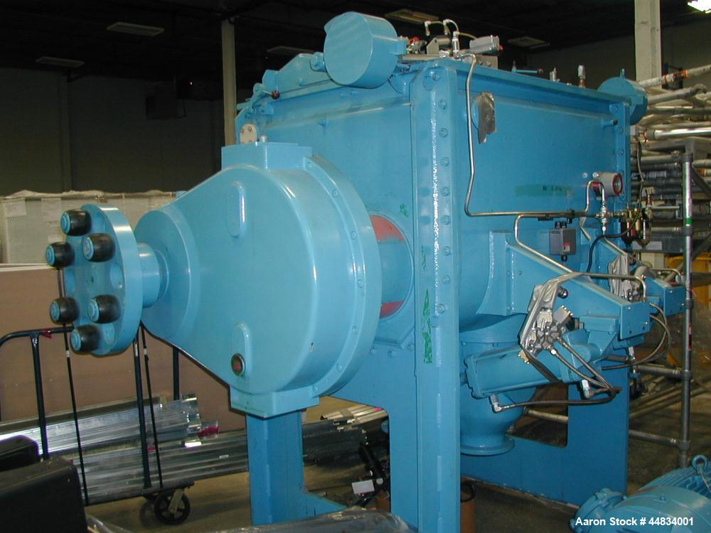 Unused- 900 Liter (247 Gallon) Werner & Pfleiderer Double Arm Sigma Blade Mixer