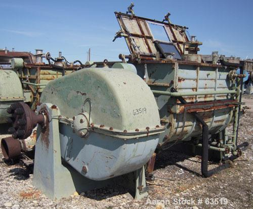 Used- Carbon Steel Werner & Pfleiderer Double Arm Mixer, approximate 300 gallon