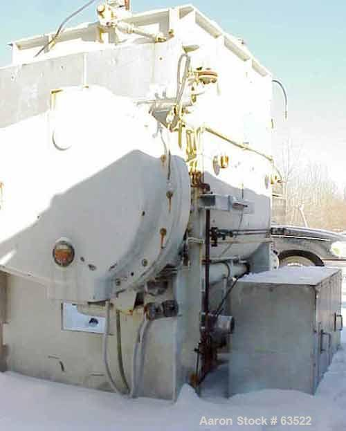 Used: Stainless Steel Werner & Pfleiderer double arm mixer, type UK1500 X 55