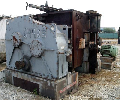 Used: Teledyne Readco split level double arm mixer, 550 gallon working capacity,