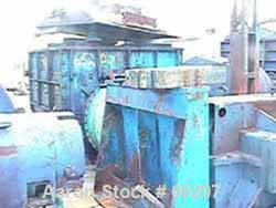 "USED: Baker Perkins double sigma blade mixer, 500 gallon, size20MWOL, carbon steel. Bowl 58-1/2""L-R x 65-1/2""F-B x 50-1/2"" d..."