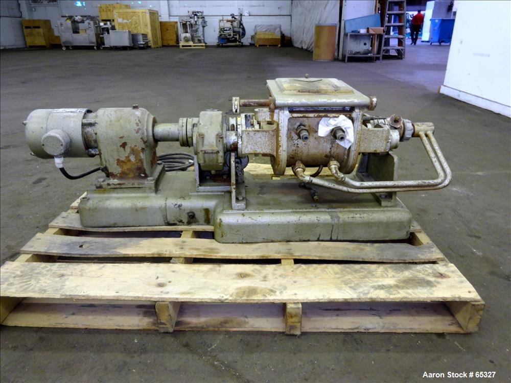 Used- Werner & Pfleiderer Double Arm Mixer, 316 Stainless Steel Construction, 2.