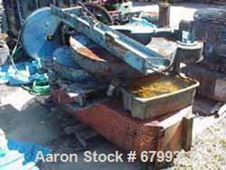 "USED: Baker Perkins 300 gallon double arm mixer, carbon steel. Jacketed bowl 42-1/4"" left to right x 50"" front to back x app..."