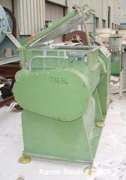 Used- Stainless Steel Hermann Linden Double Arm Mixer, Model KIIN200