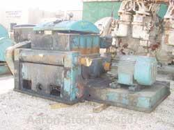 Used:Baker Perkins double arm mixer, low boy design