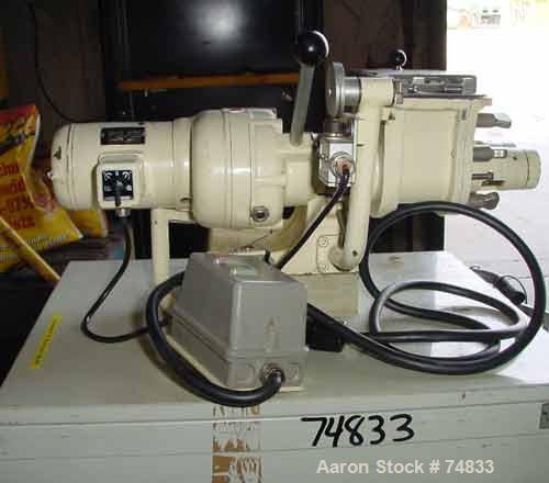Used: Fritz Meili lab size double arm mixer, type 1-LNS