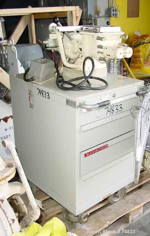 Used: Fritz Meili lab size double arm mixer, type 1-LNS