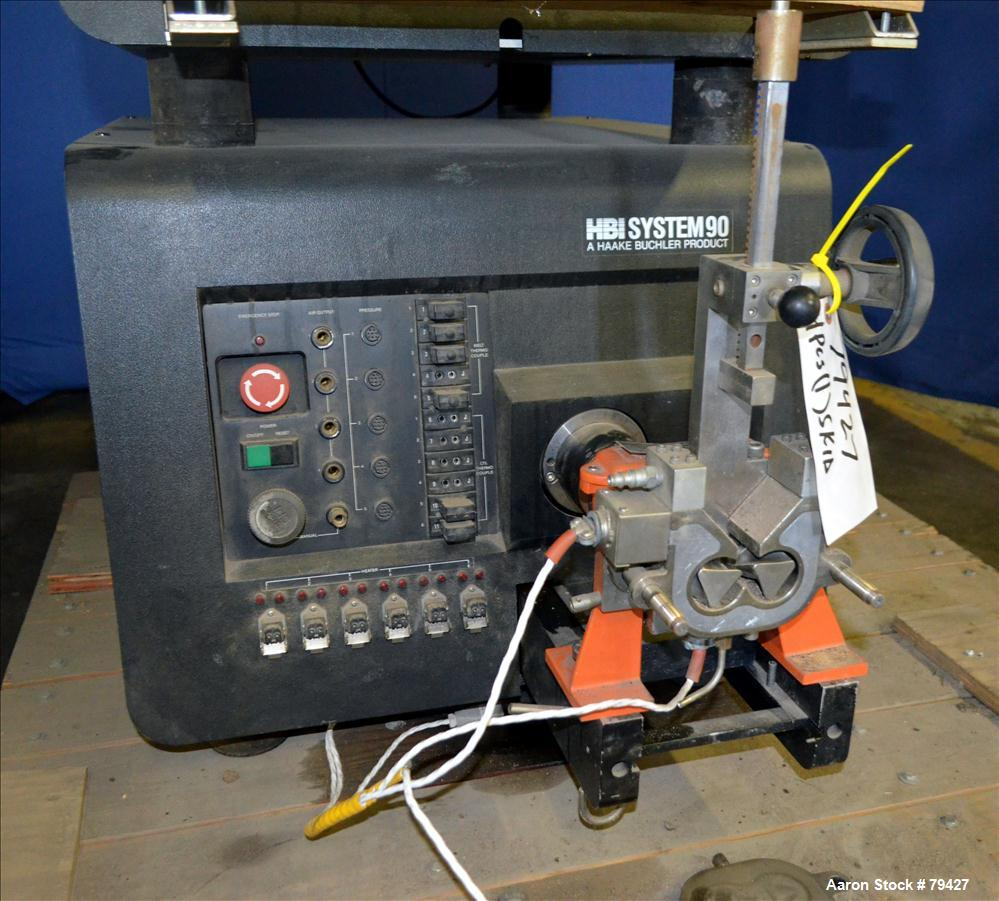 Used- Haake HBI Double Arm Lab System 90 Torque Rheometer