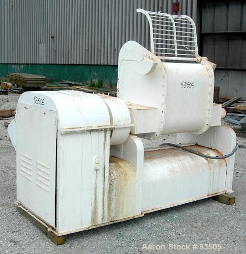 "USED: AMK double arm mixer, 52.8 gallon working capacity (200 liter), model IIU, carbon steel. Non-jacketed bowl 27-1/2"" lef..."