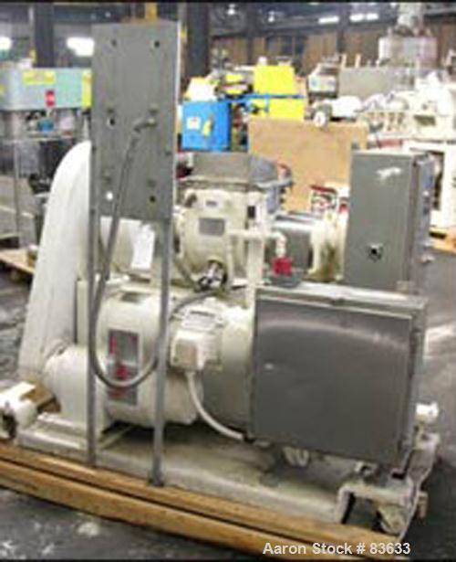 Used- J H Day Double Arm Mixer, 1.5 Gallon Working Capacity, 4 Total, 304 Stainless Steel. Carbon steel jacketed bowl 12-3/4...