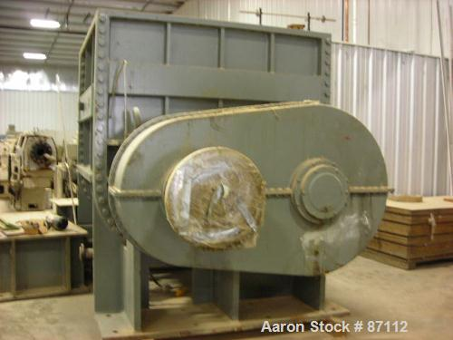 USED- J H Day 750 Gallon Double Arm Mixer, 304 Stainless Steel. Non Jacketed bowl. Internal code stamped for 60 PSI at 20 De...