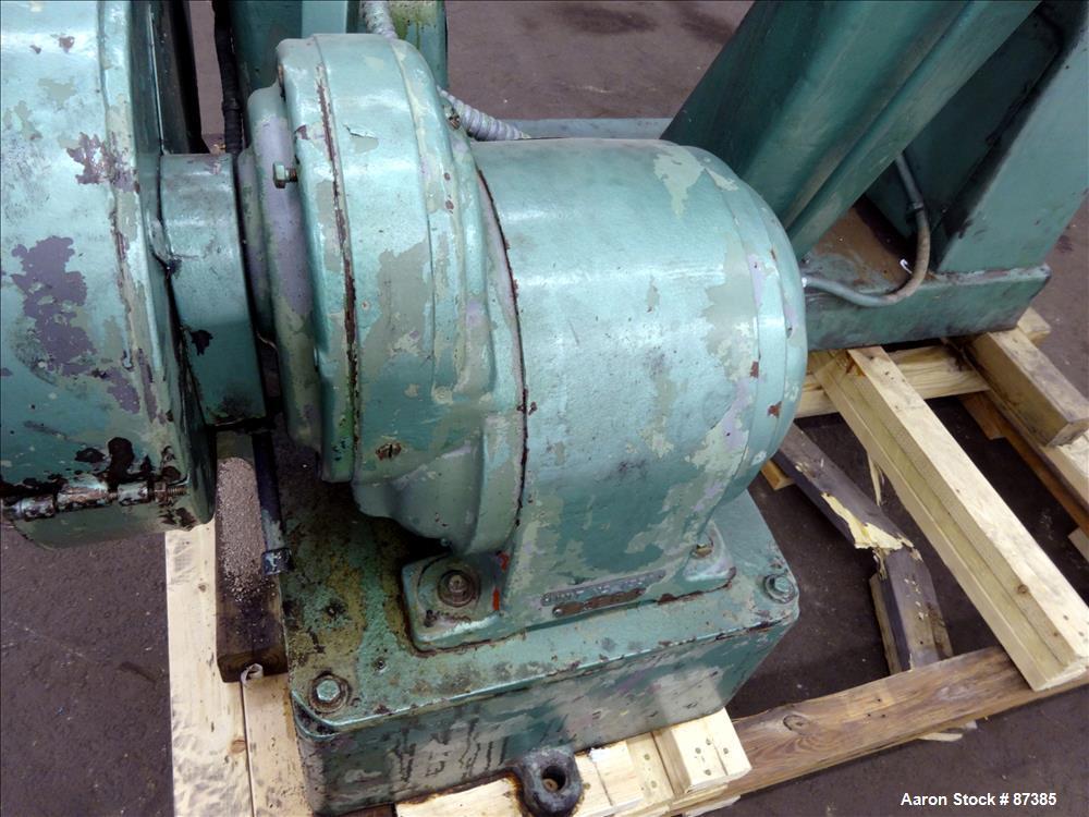 Used: Readco Double Arm Mixer