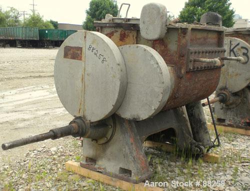 """Used- Baker Perkins Double Arm Mixer, Model 15, 100 Gallon Capacity, Carbon Steel.  Jacketed bowl 33"""" left to right x 38"""" fr..."""