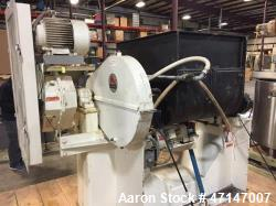Used- McCarter 100 Gallon Jacketed Tilting Double Sigma Mixer.