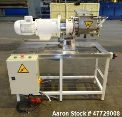 Used- P. Prat S.A. Lab Style Sigma Mixer, Model OXA-S, Stainless Steel.