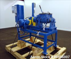 Used- Aaron Process Company Inc Double Arm Lab Mixer, 1 Gallon Working Capacity,