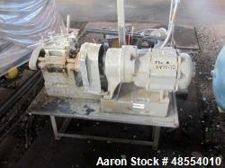 Used- Baker Perkins Double Arm Mixer, 1 Gallon Capacity, Carbon Steel.