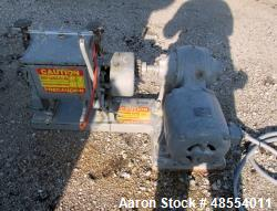 Used- Baker Perkins Double Arm Mixer, 1.5 gallon Capacity, Carbon Steel.