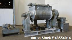 Used- Baker Perkins Double Arm Mixer, Approximately 300 Gallon Capacity, Stainle