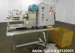 Used- Jaygo Lab Size Apollo Sigma Blade Double Arm Mixer, Model ASBM-1, Approximate 0.7 gallon working capacity (0.0353 to 0...