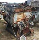 Used- Carbon Steel Readco Double Arm Mixer, Approximately 150 Gallon
