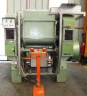 Used-Guittard M57S Stainless Steel Double Arm Z-Blade Mixer.  92 Gallons (350 liters)