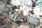 Used-  Baker Perkins Double Arm Mixer. 304 stainless steel. Approximate 2.25 gallon working capacity, jacketed bowl measures...